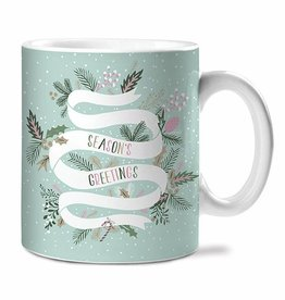 Studio Oh! Season's Greetings Ceramic Mugs