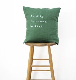 Casa & Co. Be Silly Pillow, Forest