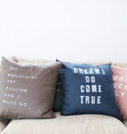 Casa & Co. Dreams Do Pillow, Indigo