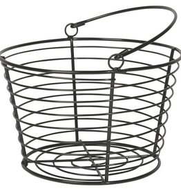 Now Designs Black Wire Basket