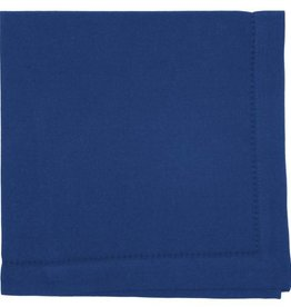 Now Designs Hemstitch Solid Napkins, Indigo
