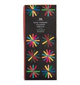 Hachette Book Group 24-piece Colored Pencil Set
