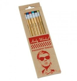 Hachette Book Group Andy Warhol Philosophy Pencils