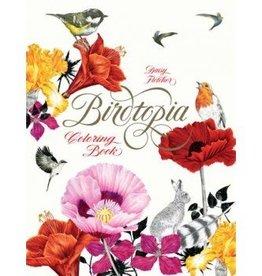Hachette Book Group Birdtopia:  Coloring Book