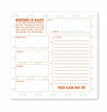 Ann Page Meal Tracking Notepad