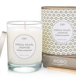 Kobo Candles Green Pearl Jasmine