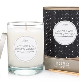 Kobo Candles Vetiver and Shaved Vanilla