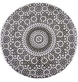 Eight Mood Alhambra Tray, Black/White