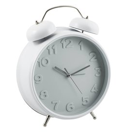 Eight Mood Alice Clock, White