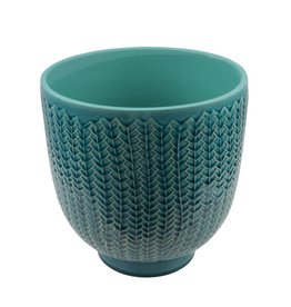 Eight Mood Kvist Pot, Turquoise