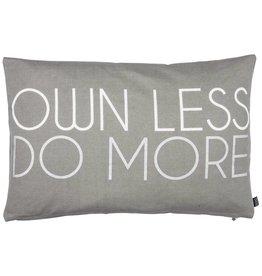 Eight Mood Minimalist Cushion, Gray