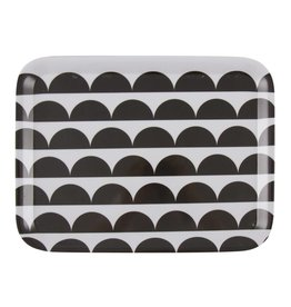 Eight Mood Oslo Tray, Black/White