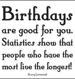 Quotable Birthdays Are Good