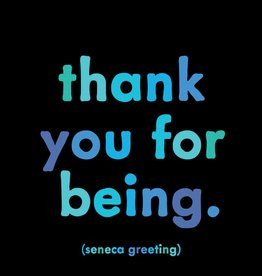 Quotable Thank you for Being