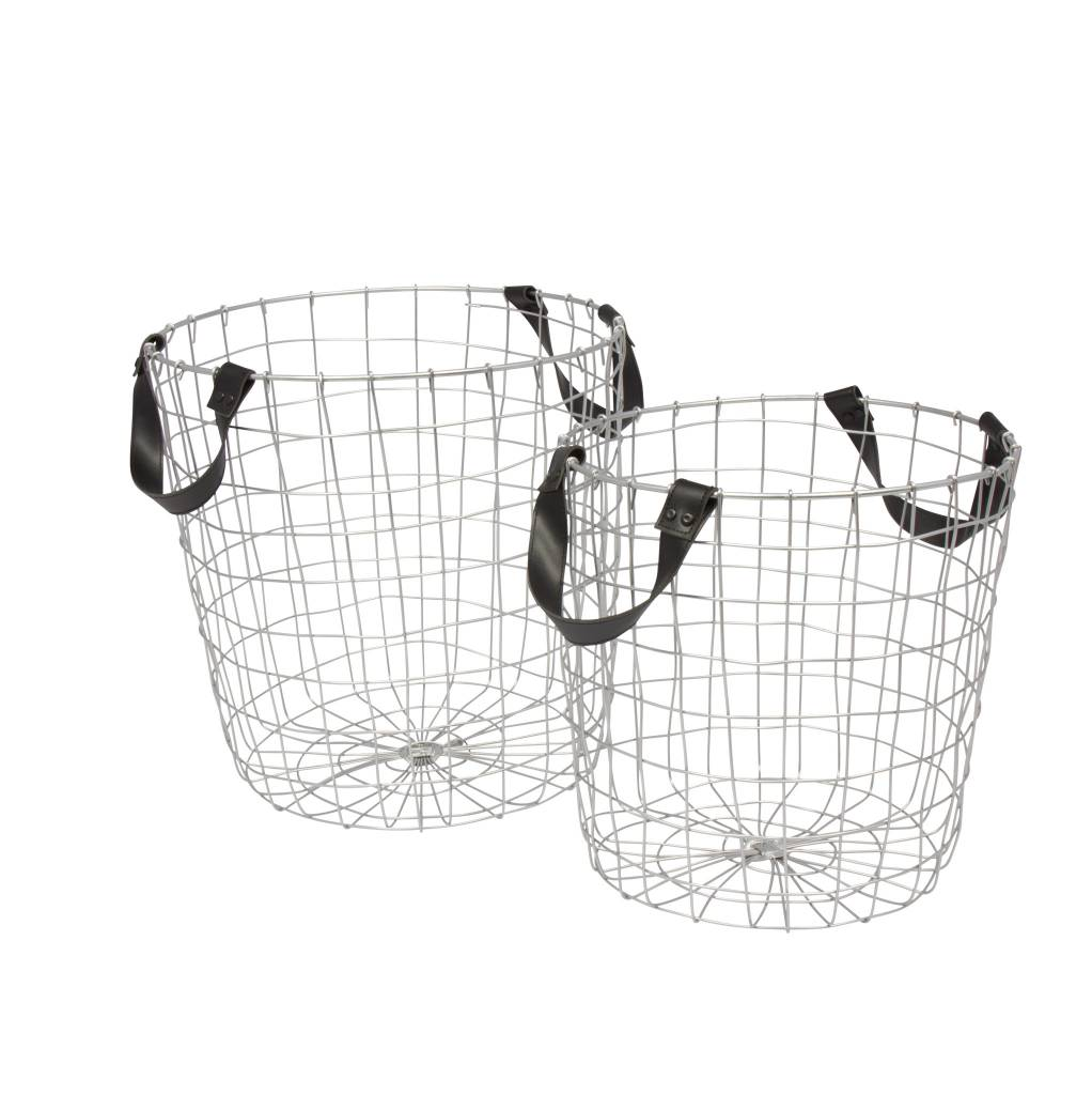 Eight Mood Bodil Wire Baskets, Small - Typo Market