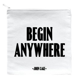 Quotable Begin Anywhere Pouch
