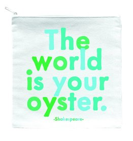 Quotable World is Your Oyster Pouch