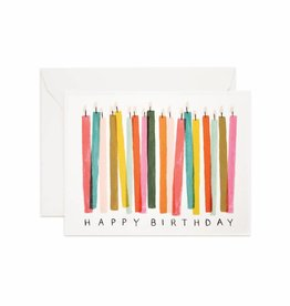 Rifle Paper Rifle - Birthday Candle Card