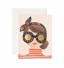 Rifle Paper Birthday Girl Card