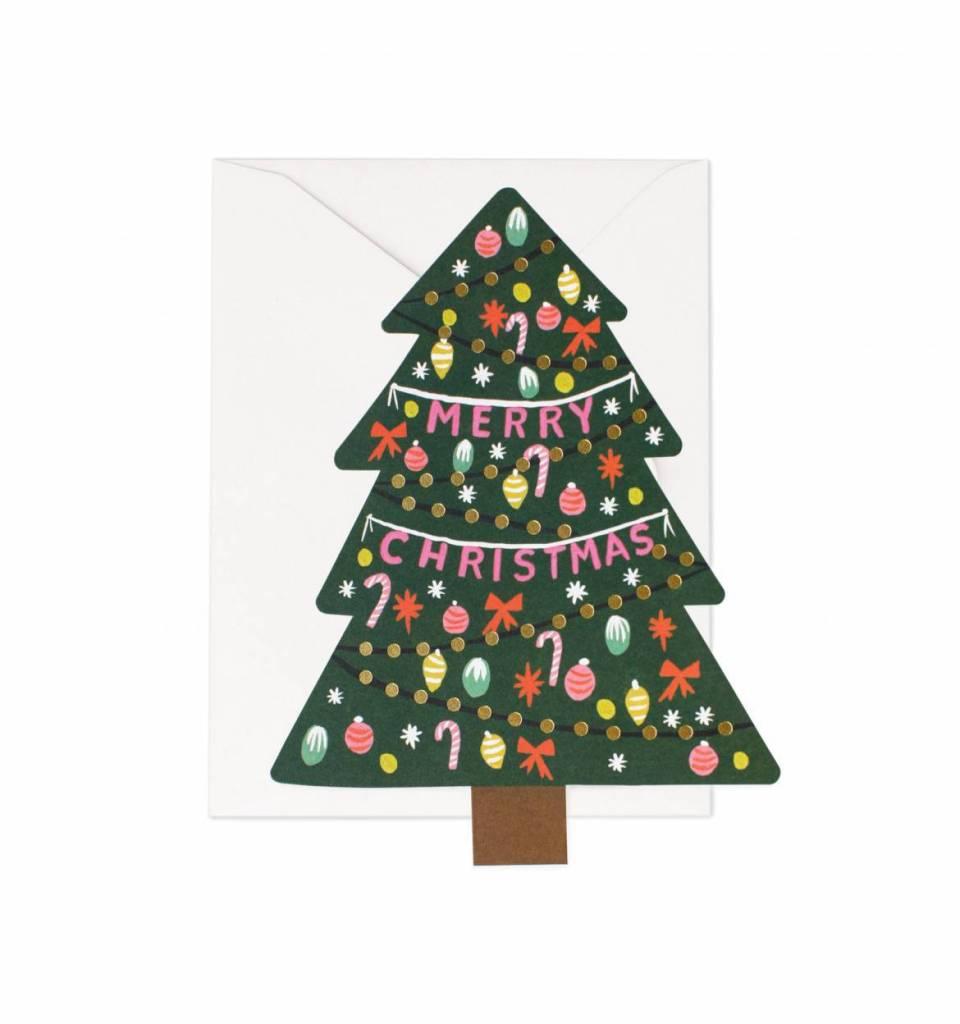 Rifle Paper Christmas Tree Card - Typo Market