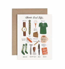 Rifle Paper Classic Dad Gifts Card
