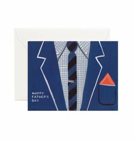Rifle Paper Father's Day Suit Card