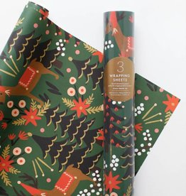 Rifle Paper Reindeer Wrapping Sheets
