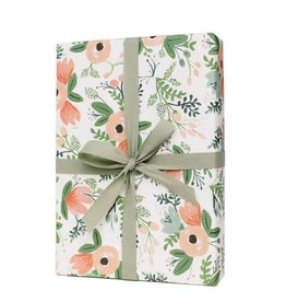 Rifle Paper Wildflower Wrapping Sheets Roll of 3
