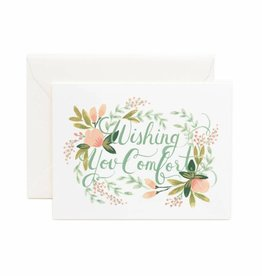 Rifle Paper Wishing You Comfort Card