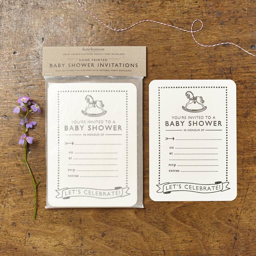 Katie Leamon Baby Shower Invitations - Typo Market