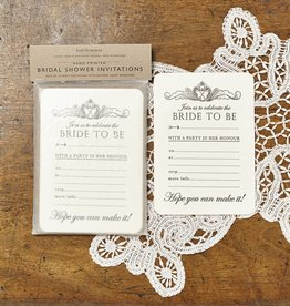 Katie Leamon Bridal Shower Invitations