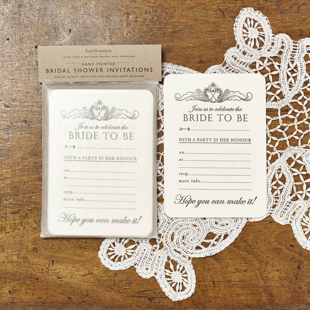 Katie Leamon Bridal Shower Invitations - Typo Market