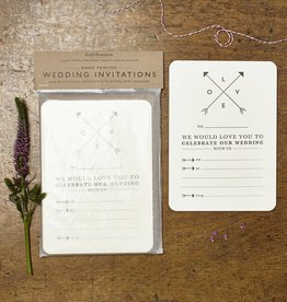 Katie Leamon Love Wedding Invitations