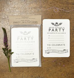 Katie Leamon Tea Party Invitations