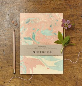 Katie Leamon Coral Marbled Notebook