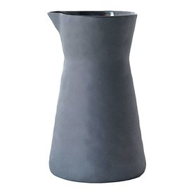 BE Home Dark Gray Stoneware Carafe