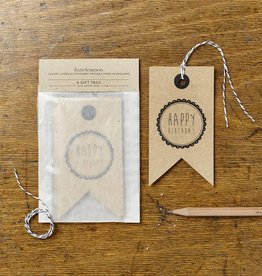 Katie Leamon Kraft Birthday Tags