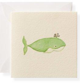Karen Adams Whale Card