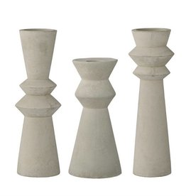 Bloomingville Concrete Taper Holder, 3 Styles