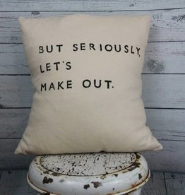 Casa & Co. But Seriously Pillow, Sand