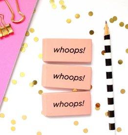 Taylor Elliott Whoops! Erasers, Set/3