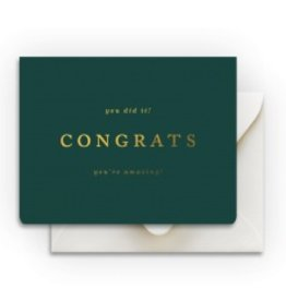Smitten on Paper Amazing Congrats Card