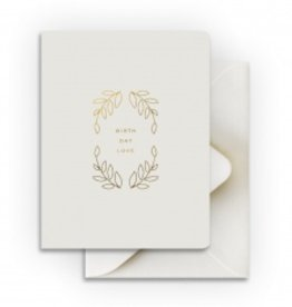 Smitten on Paper Birthday Love Card