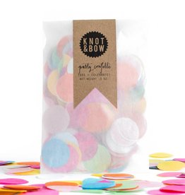 Knot and Bow Confetti Bag:  Multicolor Party Mix