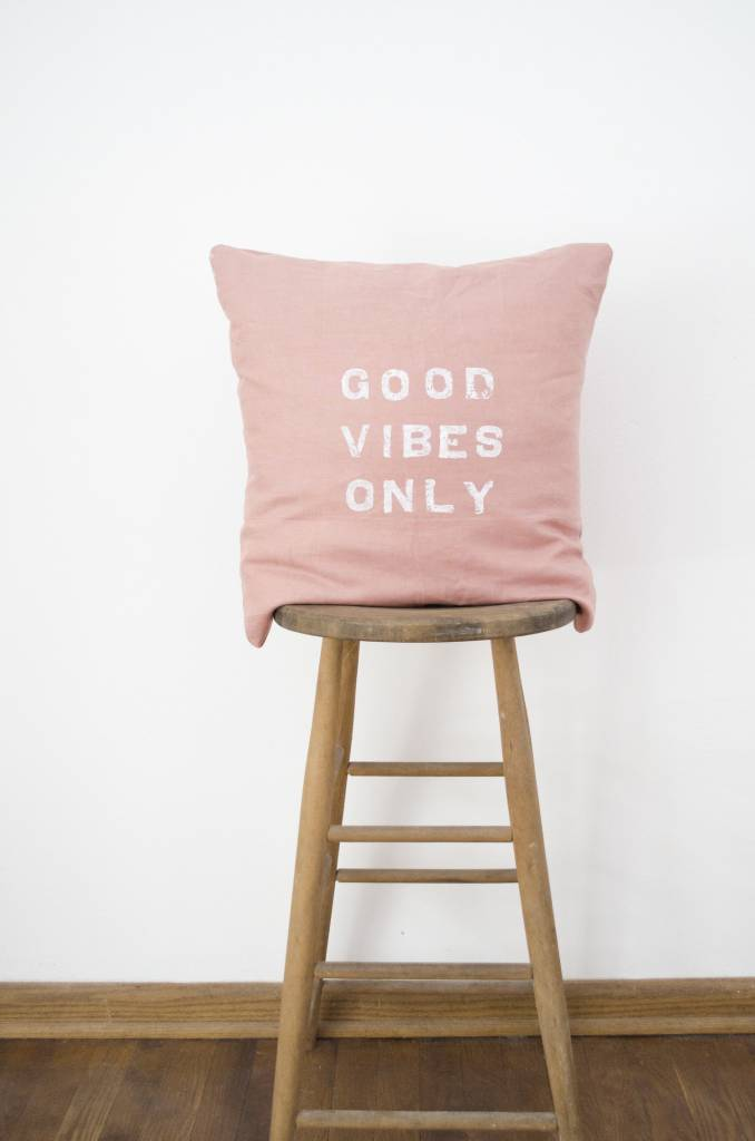 Casa & Co. Good Vibes Only Pillow, Shell