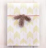 Chevron Trees Gift Wrap