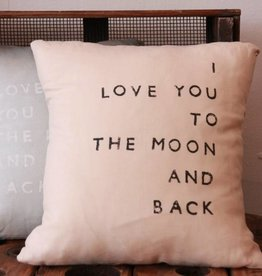 Casa & Co. To The Moon Pillow, Shell