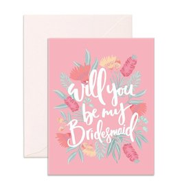 Fox and Fallow Will You Be My Bridesmaid Card