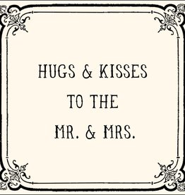 SugarBoo Designs Hugs & Kisses Notecard
