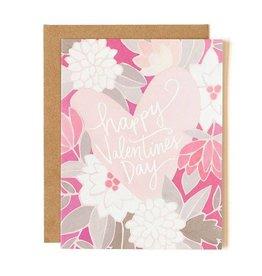 1Canoe2 Valentines Heart Card